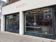 Outside Morito Hackney